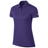 Nike Dri-Fit Victory Golf Polo - Women's - Purple / Purple