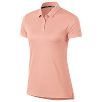 Nike Dri-Fit Victory Golf Polo - Women's - Pink / Silver