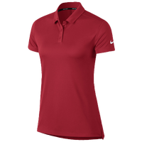 Nike Dri-Fit Victory Golf Polo - Women's - Red / Red