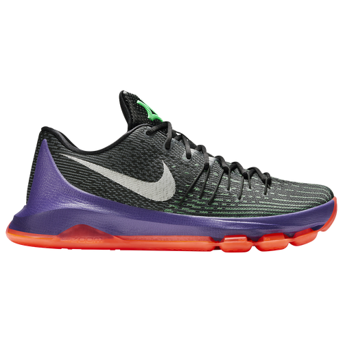 new product 2c74b 95a4d ... free shipping nike kd viii mens basketball shoes kevin durant black  white green shock hyper orange