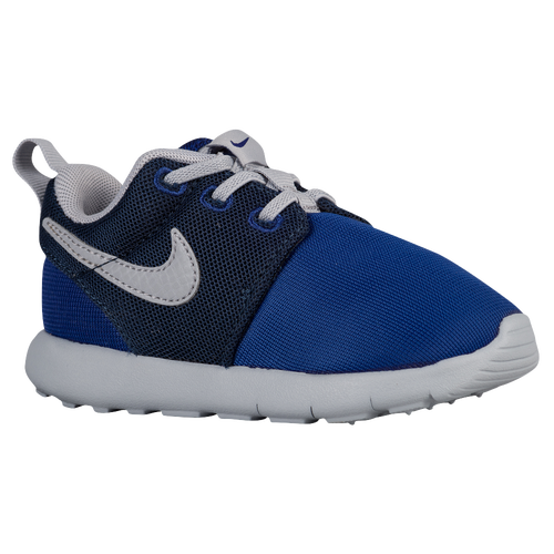 Nike Roshe One - Boys' Toddler - Casual - Shoes - Deep Royal Blue/Wolf Grey/Midnight  Navy