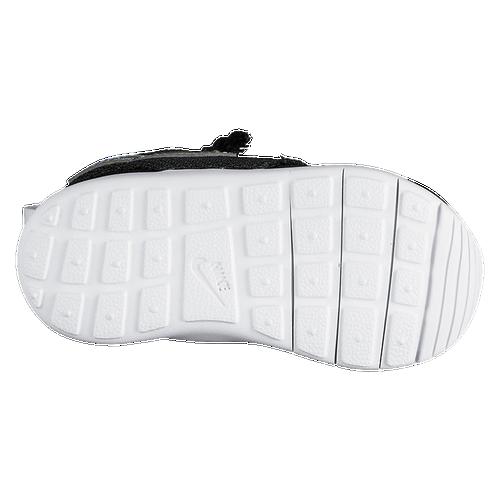 Nike Roshe One - Boys' Toddler - Casual - Shoes - Black/White/White/Metallic  Silver