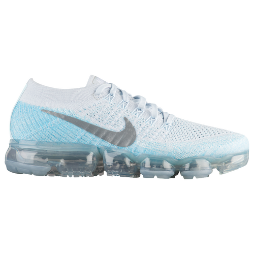 Nike Air VaporMax Flyknit - Women's - Running - Shoes - Pure  Platinum/Metallic Silver