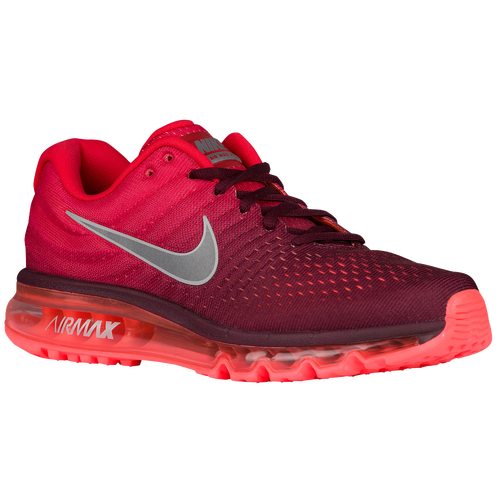 Nike Air Max 2017 Mens Running Shoes Maroonwhitegym Red