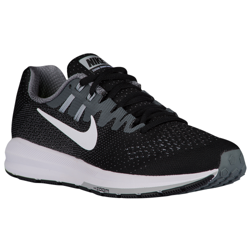 best Nike Air Zoom Structure 20 - Women s - Running - Shoes - Black White 416e7ed77