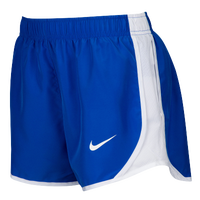 Nike Team Dry Tempo Shorts - Women's - Blue / White