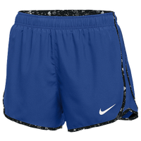 Nike Team Dry Tempo Shorts - Women's - Blue / Black