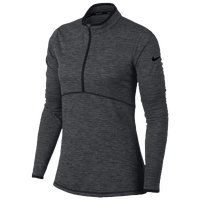 Nike Dri-Fit 1/2 Zip Golf Cover Up - Women's - Grey / Black