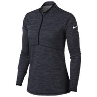 Nike Dri-Fit 1/2 Zip Golf Cover Up - Women's - Navy / White