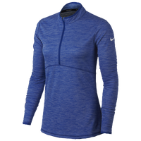 Nike Dri-Fit 1/2 Zip Golf Cover Up - Women's - Blue / Blue