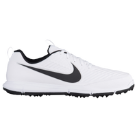 Nike Explorer 2 Golf Shoes - Men's - White / Black