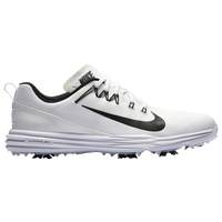 Nike Lunar Command Golf Shoes - Men's - White / Black