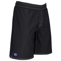 Cliff Keen Youth Wrestling Board Shorts - Boys' Grade School - Black / White