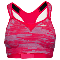 Brooks Rebound Racer Sport Bra - Women's - Pink / Grey