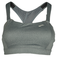 Brooks Juno Sport Bra - Women's - Grey / Grey