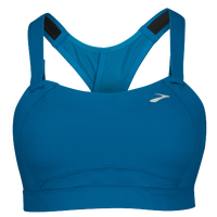 Brooks Juno Sport Bra - Women's - Blue / Blue