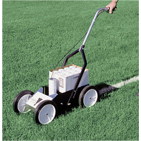 Athletic Specialties Field Striping Machine - Silver / Black