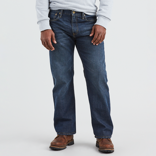 23c440d0336 Levi S 569 Loose Straight Fit Dark Chipped Jeans - The Best Style Jeans