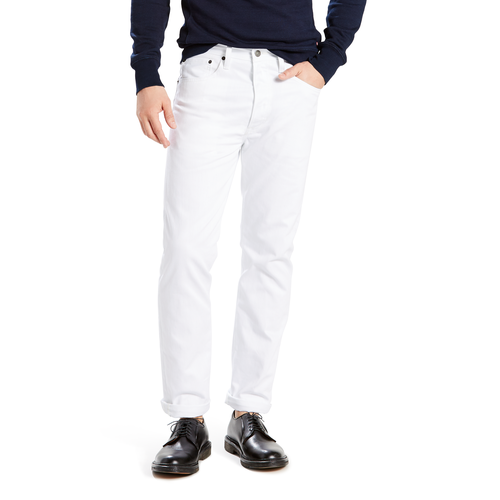 Levis 501 Shrink To Fit Jeans Mens Casual Clothing White