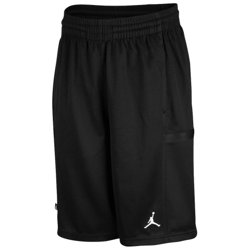 03849dc9b17d BOYS NIKE AIR JORDAN DRI FIT SHORTS SIZE 4 BLACK RED NWT ... Jordan  Bankroll Shorts - Boys  Grade School - Basketball .