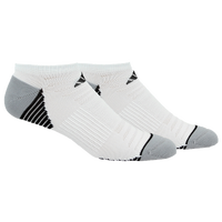 adidas Superlite Speed Mesh 2 Pack No Show - Men's - White / Black