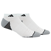 adidas Superlite Speed Mesh 2 Pack Low Cut - Men's - White / Black