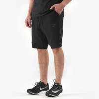 Nike Tech Fleece Shorts - Men's - All Black / Black