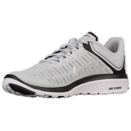 da1a586212bc ... discount nike fs lite run 4 mens running shoes pure platinum black white  metallic silver 0070d