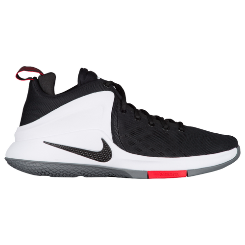 Nike Zoom Witness - Men's - Basketball - Shoes - Lebron James -  Black/White/Bright Crimson/Wolf Grey