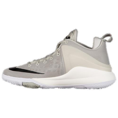 Nike Zoom Witness - Men's - Basketball - Shoes - LeBron James - Pale Grey/ Black/Sail/White