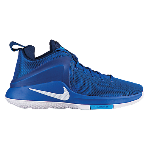 Nike Zoom Witness - Men's - Basketball - Shoes - Lebron James - Game  Royal/Binary Blue/Blue Hero/White