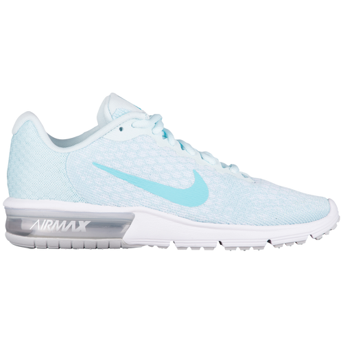 the latest 2829e 29682 netherlands nike air max sequent 2 womens running shoes pure platinum  polarized blue glacier blue b2665