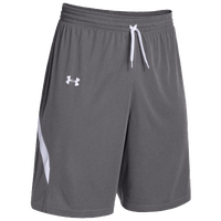 Under Armour Team Clutch Reversible Shorts - Women's - Grey / White