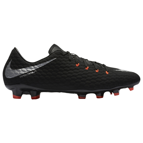 Nike Hypervenom Phelon III FG - Men's - Soccer - Shoes - Black/Metallic  Silver/Anthracite