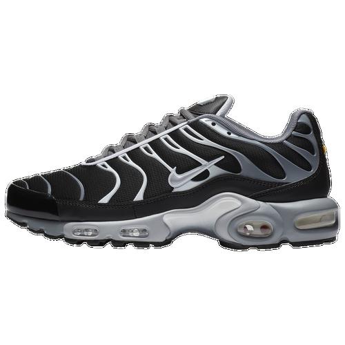 nike air max piu 'uomini' occasionale scarpe cool grey / lupo grigio