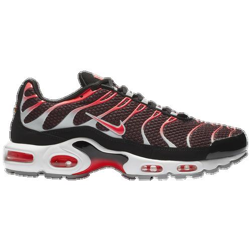reputable site 8c47d dc51c ... switzerland nike air max plus mens casual shoes black bright crimson  wolf grey white e165d 48d59