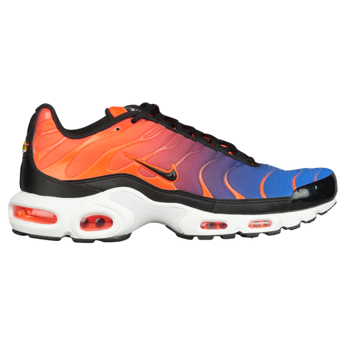 12156c39577d ... usa nike air max plus mens casual shoes total crimson black racer blue  white 4d238 8373f