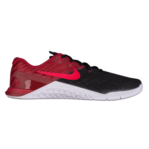 Nike Metcon 3 - Men's - Training - Shoes - Black/Siren Red/Team Red/White