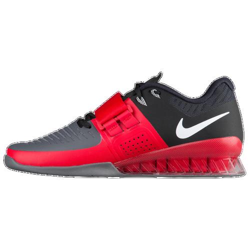 Nike Romaleos 3 - Men's - Training - Shoes - Univesity Red/White/Dark Grey/ Black
