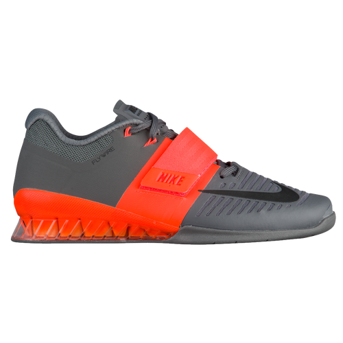 Nike Romaleos 3 - Men's - Training - Shoes - Hyper Crimson/Black/Dark Grey
