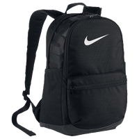 Nike Brasilia Medium Backpack - Black / White