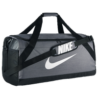 Nike Brasilia Large Duffel - Grey / Black