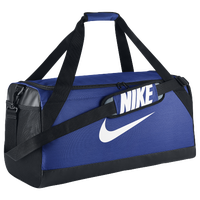 Nike Brasilia Medium Duffel - Blue / Black