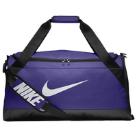 Nike Brasilia Medium Duffel - Purple / Black