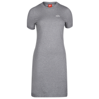 Nike Short Sleeved Ringer Dress - Women's - Grey / White