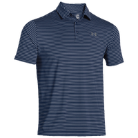 Under Armour Playoff Golf Polo - Men's - Navy / Grey