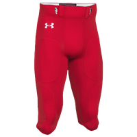 Under Armour Team Stock Instinct Pants - Men's - Red / Red