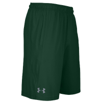 Under Armour Team Pocketed Raid Shorts - Men's - Dark Green / Dark Green