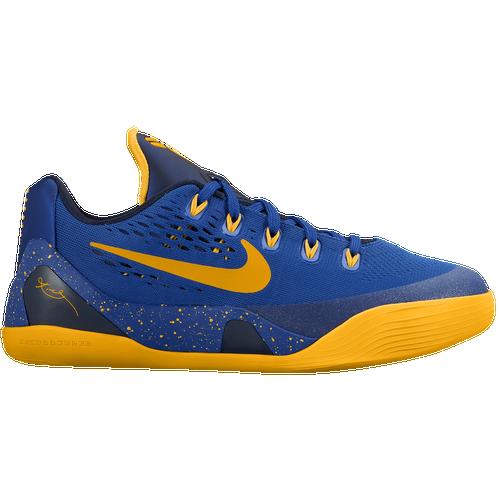 Nike Kobe IX - Boys' Grade School - Basketball - Shoes - Kobe Bryant - Gym  Blue/University Gold/Obsidian
