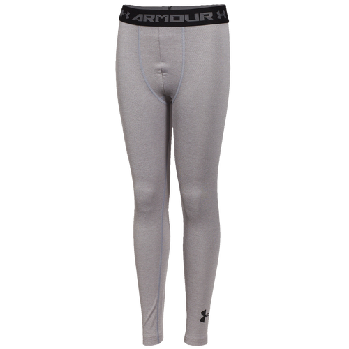 23643080a8b9 durable modeling Under Armour HeatGear Armour Up Tights Boys Grade School  Training Clothing True Grey Heather ·